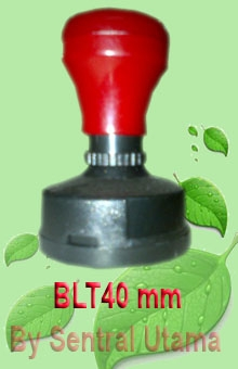 Stempel Bulat Diameter 40  mm