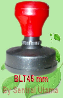 Stempel Bulat Diameter 45 mm